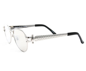 VF 1999 24KT White Gold Masterpiece (Silver Mirror), VF Masterpiece, glasses frames, eyeglasses online, eyeglass frames, mens glasses, womens glasses, buy glasses online, designer eyeglasses, vintage sunglasses, retro sunglasses, vintage glasses, sunglass, eyeglass, glasses, lens, vintage frames company, vf