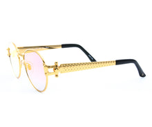 VF 1998 24KT Gold Masterpiece (Two-Tone Mauve), VF Masterpiece, glasses frames, eyeglasses online, eyeglass frames, mens glasses, womens glasses, buy glasses online, designer eyeglasses, vintage sunglasses, retro sunglasses, vintage glasses, sunglass, eyeglass, glasses, lens, vintage frames company, vf