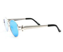 VF 1998 24KT White Gold Masterpiece (Blue Mirror), VF Masterpiece, glasses frames, eyeglasses online, eyeglass frames, mens glasses, womens glasses, buy glasses online, designer eyeglasses, vintage sunglasses, retro sunglasses, vintage glasses, sunglass, eyeglass, glasses, lens, vintage frames company, vf