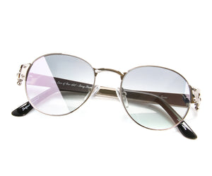VF 1998 24KT White Gold Masterpiece (Purple Ice), VF Masterpiece, vintage frames, vintage frame, vintage sunglasses, vintage glasses, retro sunglasses, retro glasses, vintage glasses, vintage designer sunglasses, vintage design glasses, eyeglass frames, glasses frames, sunglass frames, sunglass, eyeglass, glasses, lens, jewelry, vintage frames company, vf