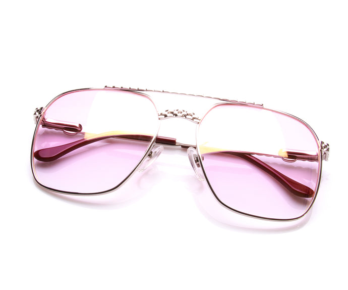 XL Masterpiece 24KT White Gold (Pink), VF Masterpiece, vintage frames, vintage frame, vintage sunglasses, vintage glasses, retro sunglasses, retro glasses, vintage glasses, vintage designer sunglasses, vintage design glasses, eyeglass frames, glasses frames, sunglass frames, sunglass, eyeglass, glasses, lens, jewelry, vintage frames company, vf
