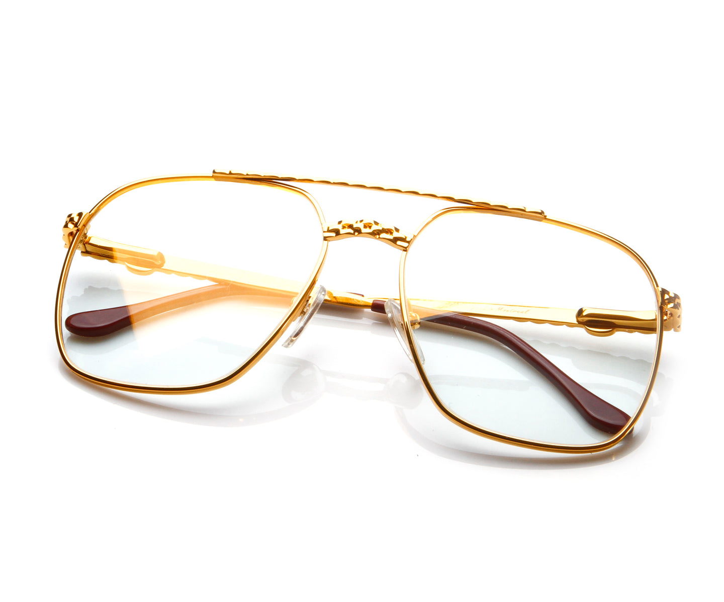 VF XL Masterpiece 24KT Gold (Clear Flash Gold) Thumbnail, VF Masterpiece , glasses frames, eyeglasses online, eyeglass frames, mens glasses, womens glasses, buy glasses online, designer eyeglasses, vintage sunglasses, retro sunglasses, vintage glasses, sunglass, eyeglass, glasses, lens, vintage frames company, vf