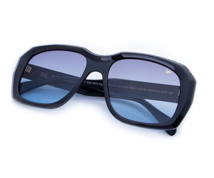 VF XXL Geometric Black (Grape / Blue), Ace Rothstein, vintage frames, vintage frame, vintage sunglasses, vintage glasses, retro sunglasses, retro glasses, vintage glasses, vintage designer sunglasses, vintage design glasses, eyeglass frames, glasses frames, sunglass frames, sunglass, eyeglass, glasses, lens, jewelry, vintage frames company, vf