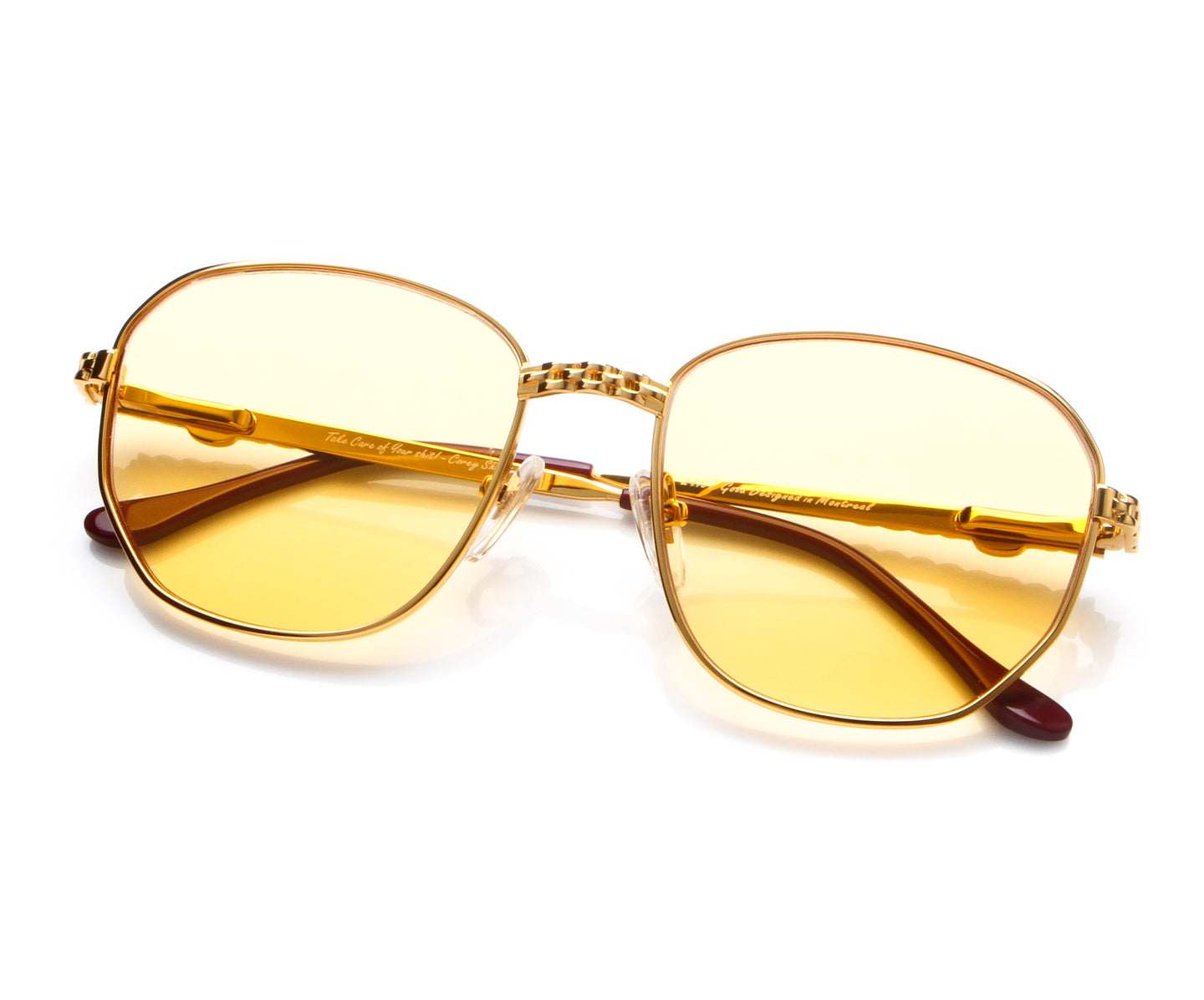 VF Casino Masterpiece 24KT Gold (Honey Yellow) Thumbnail, VF Masterpiece , glasses frames, eyeglasses online, eyeglass frames, mens glasses, womens glasses, buy glasses online, designer eyeglasses, vintage sunglasses, retro sunglasses, vintage glasses, sunglass, eyeglass, glasses, lens, vintage frames company, vf