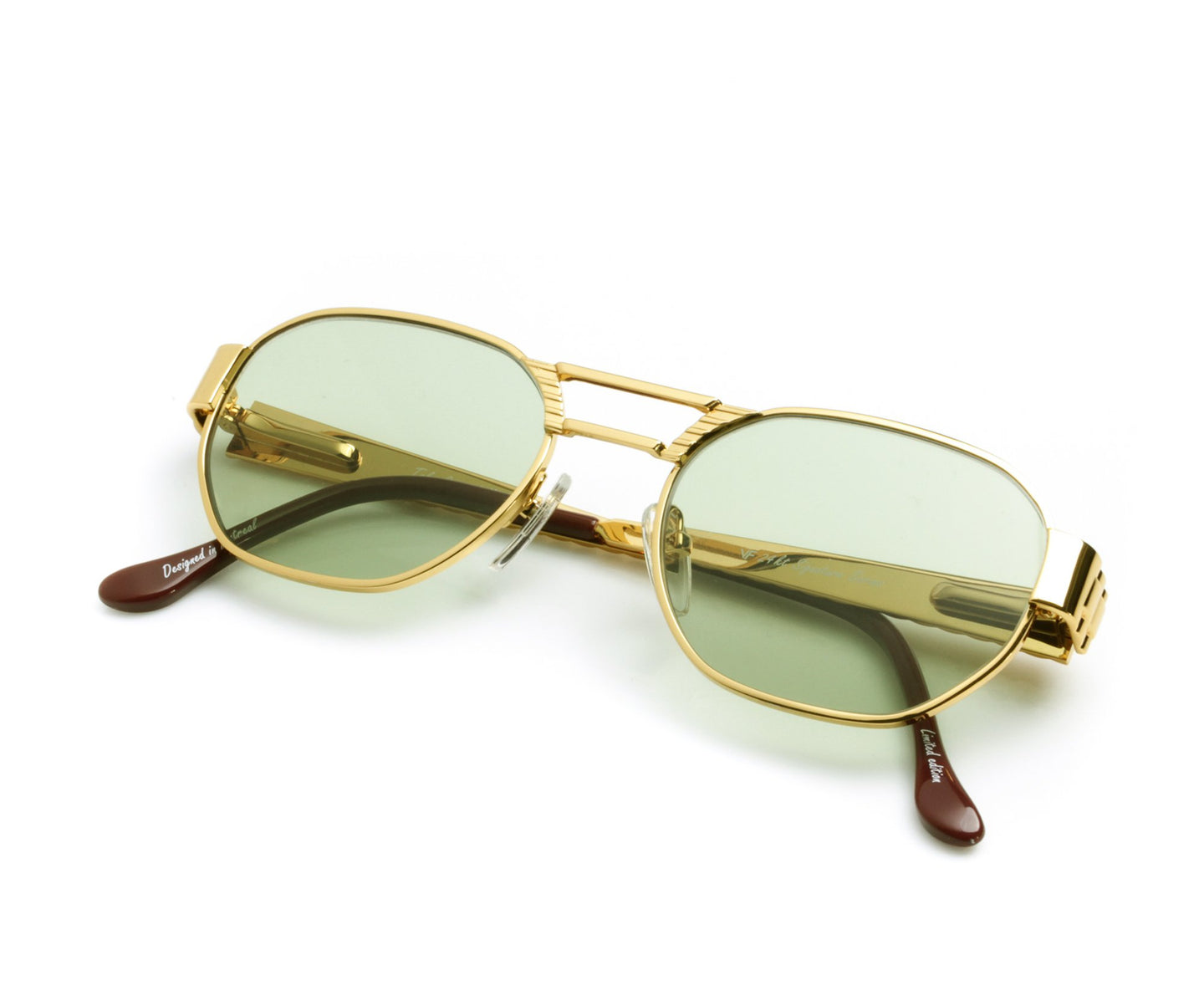 VF Crown Presidential 24KT Gold (Money Green) Thumb, VF Masterpiece , glasses frames, eyeglasses online, eyeglass frames, mens glasses, womens glasses, buy glasses online, designer eyeglasses, vintage sunglasses, retro sunglasses, vintage glasses, sunglass, eyeglass, glasses, lens, vintage frames company, vf