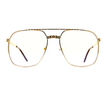 VF XL Masterpiece 24KT Gold (Yellow Gradient) Front, VF Masterpiece, glasses frames, eyeglasses online, eyeglass frames, mens glasses, womens glasses, buy glasses online, designer eyeglasses, vintage sunglasses, retro sunglasses, vintage glasses, sunglass, eyeglass, glasses, lens, vintage frames company, vf