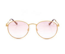 VF Miami Vice Full Rope 18KT Gold (Pink / Blue) Front,VF by Vintage Frames , glasses frames, eyeglasses online, eyeglass frames, mens glasses, womens glasses, buy glasses online, designer eyeglasses, vintage sunglasses, retro sunglasses, vintage glasses, sunglass, eyeglass, glasses, lens, vintage frames company, vf