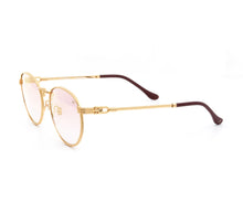 VF Miami Vice Full Rope 18KT Gold (Pink / Blue) Side,VF by Vintage Frames , glasses frames, eyeglasses online, eyeglass frames, mens glasses, womens glasses, buy glasses online, designer eyeglasses, vintage sunglasses, retro sunglasses, vintage glasses, sunglass, eyeglass, glasses, lens, vintage frames company, vf