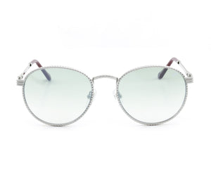 VF Miami Vice Full Rope 18KT White Gold (Powder Green) Front, VF by Vintage Frames, glasses frames, eyeglasses online, eyeglass frames, mens glasses, womens glasses, buy glasses online, designer eyeglasses, vintage sunglasses, retro sunglasses, vintage glasses, sunglass, eyeglass, glasses, lens, vintage frames company, vf