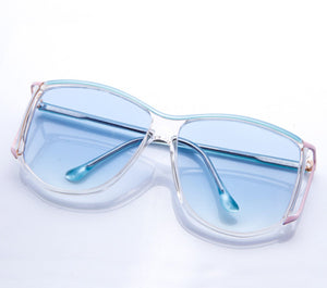 VF by Vintage Frames BeeHive (Light Blue Gradient Flat Lens), VF by Vintage Frames, vintage frames, vintage frame, vintage sunglasses, vintage glasses, retro sunglasses, retro glasses, vintage glasses, vintage designer sunglasses, vintage design glasses, eyeglass frames, glasses frames, sunglass frames, sunglass, eyeglass, glasses, lens, jewelry, vintage frames company, vf