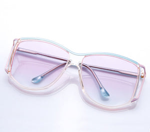 VF by Vintage Frames BeeHive (Light Pink Gradient Flat Lens), VF by Vintage Frames, vintage frames, vintage frame, vintage sunglasses, vintage glasses, retro sunglasses, retro glasses, vintage glasses, vintage designer sunglasses, vintage design glasses, eyeglass frames, glasses frames, sunglass frames, sunglass, eyeglass, glasses, lens, jewelry, vintage frames company, vf
