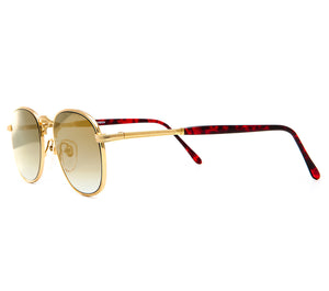 Detroit Player III Old Gold Special Edition Black Gradient Side, VF by Vintage Frames, glasses frames, eyeglasses online, eyeglass frames, mens glasses, womens glasses, buy glasses online, designer eyeglasses, vintage sunglasses, retro sunglasses, vintage glasses, sunglass, eyeglass, glasses, lens, vintage frames company, vf