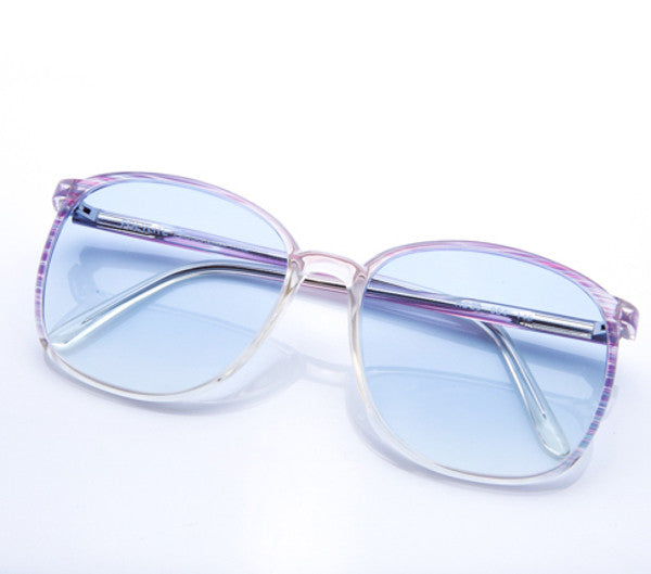 VF by Vintage Frames Eve (Flash Light Blue Flat Lens), VF by Vintage Frames, vintage frames, vintage frame, vintage sunglasses, vintage glasses, retro sunglasses, retro glasses, vintage glasses, vintage designer sunglasses, vintage design glasses, eyeglass frames, glasses frames, sunglass frames, sunglass, eyeglass, glasses, lens, jewelry, vintage frames company, vf
