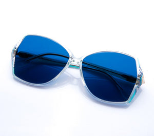 VF by Vintage Frames Paris (Blue Flat Lens)