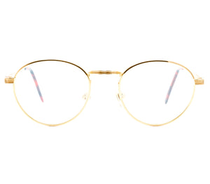 VF by Vintage Frames Bentley 21Kt (Flash Peach Flat Lens) Front