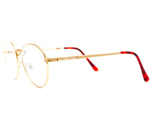 VF by Vintage Frames Bentley 21Kt (Flash Peach Flat Lens) Side