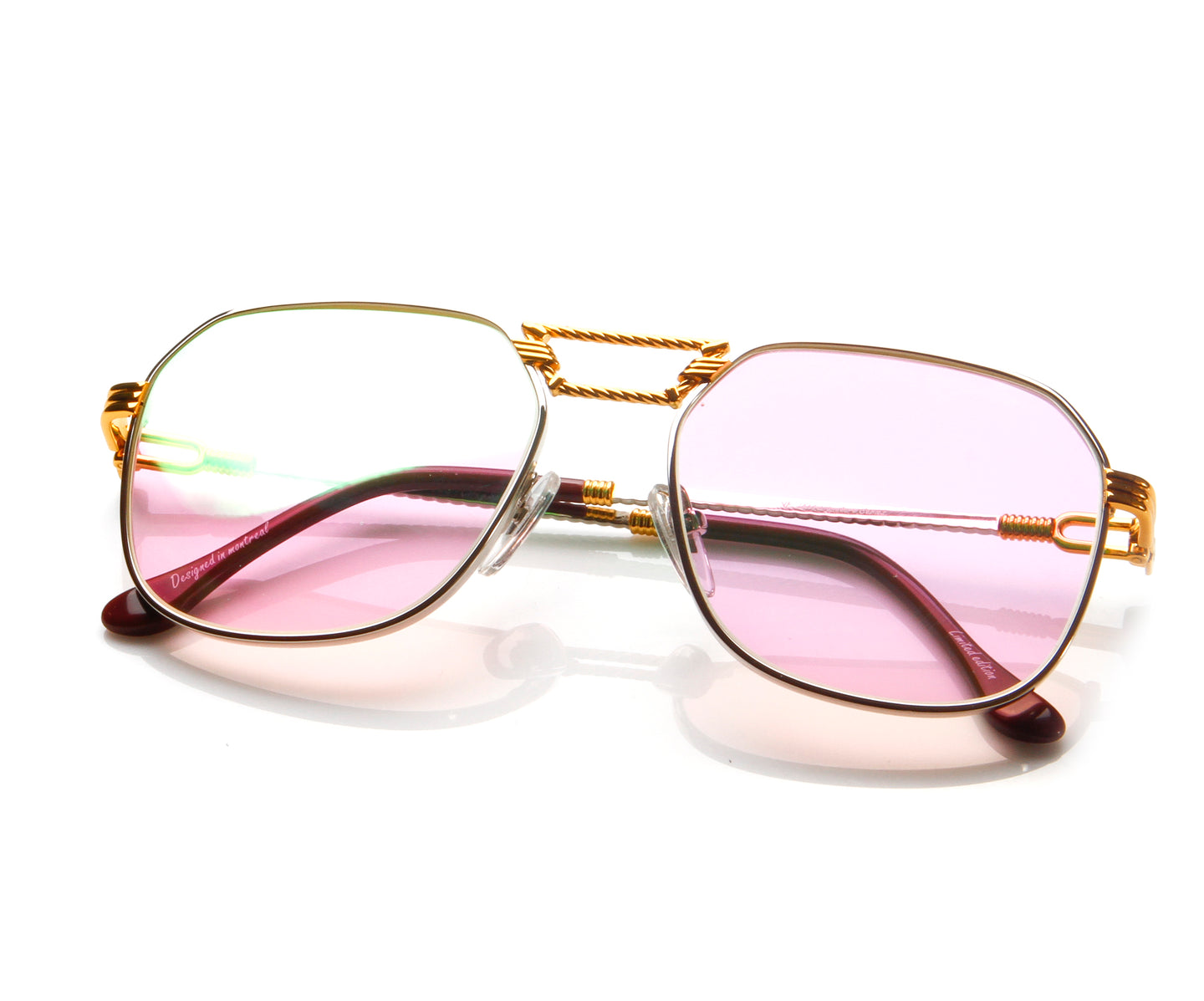 CEO Masterpiece 24KT Two-Tone, VF Masterpiece , glasses frames, eyeglasses online, eyeglass frames, mens glasses, womens glasses, buy glasses online, designer eyeglasses, vintage sunglasses, retro sunglasses, vintage glasses, sunglass, eyeglass, glasses, lens, vintage frames company, vf
