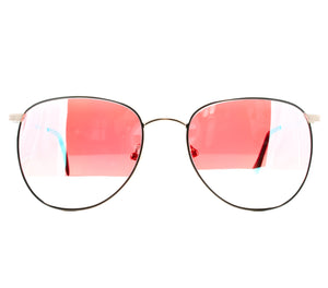VF by Vintage Frames 22kt Gemini (Candy Red Gradient Yellow Multi Lens) Front