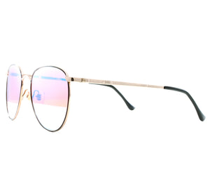 VF by Vintage Frames 22kt Gemini (Candy Red Gradient Yellow Multi Lens) Side