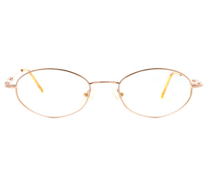 VF by Vintage Frames Chain Gang 2 (Clear Flash Gold) Front, VF by Vintage Frames, glasses frames, eyeglasses online, eyeglass frames, mens glasses, womens glasses, buy glasses online, designer eyeglasses, vintage sunglasses, retro sunglasses, vintage glasses, sunglass, eyeglass, glasses, lens, vintage frames company, vf