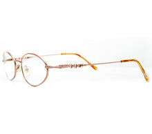 VF by Vintage Frames Chain Gang 2 (Clear Flash Gold) Side, VF by Vintage Frames, glasses frames, eyeglasses online, eyeglass frames, mens glasses, womens glasses, buy glasses online, designer eyeglasses, vintage sunglasses, retro sunglasses, vintage glasses, sunglass, eyeglass, glasses, lens, vintage frames company, vf