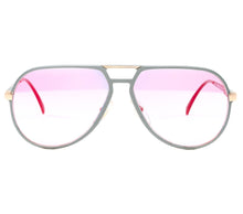 VF by Vintage Frames Commander (Mauve Gradient Two Tone Multi Flash Flat Lens) Front, VF by Vintage Frames, glasses frames, eyeglasses online, eyeglass frames, mens glasses, womens glasses, buy glasses online, designer eyeglasses, vintage sunglasses, retro sunglasses, vintage glasses, sunglass, eyeglass, glasses, lens, vintage frames company, vf