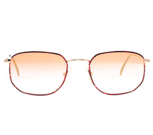 VF by Vintage Frames Detroit Player Bentley Edition (Red Gradient Flash Rose Gold Flat Lens) Front