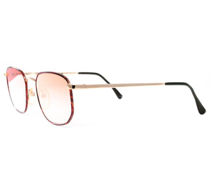VF by Vintage Frames Detroit Player Bentley Edition (Red Gradient Flash Rose Gold Flat Lens) Side
