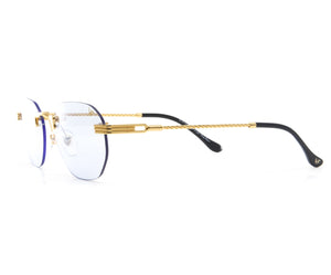 VF Detroit Player Drill Mount 24KT Gold Signature Edition, VF Drill Mount, glasses frames, eyeglasses online, eyeglass frames, mens glasses, womens glasses, buy glasses online, designer eyeglasses, vintage sunglasses, retro sunglasses, vintage glasses, sunglass, eyeglass, glasses, lens, vintage frames company, vf