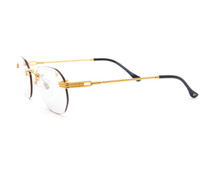 VF Detroit Player Drill Mount 24KT Gold Signature Edition (Light Grey Lens) Side