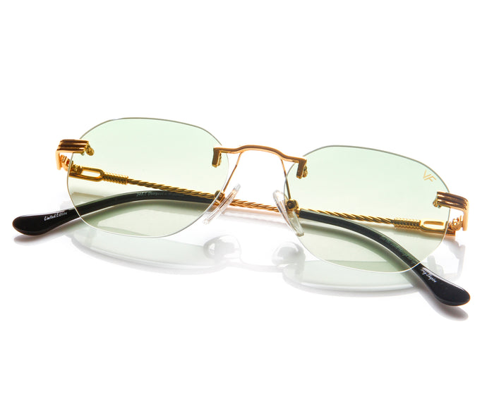 VF Detroit Player Drill Mount 24KT Gold Signature Edition (Powder Green Lens) Thumb
