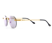 VF Detroit Player Drill Mount 24KT Gold Signature Edition (Smoke Flash Blue Lens) Side