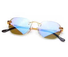 VF Detroit Player Drill Mount 24KT Gold Signature Edition (Smoke Flash Blue Lens) Thumb