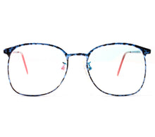 VF by Vintage Frames 90210 Blue Marble Front,VF by Vintage Frames , glasses frames, eyeglasses online, eyeglass frames, mens glasses, womens glasses, buy glasses online, designer eyeglasses, vintage sunglasses, retro sunglasses, vintage glasses, sunglass, eyeglass, glasses, lens, vintage frames company, vf