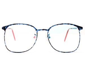 VF by Vintage Frames 90210 Blue Marble Front, VF by Vintage Frames, glasses frames, eyeglasses online, eyeglass frames, mens glasses, womens glasses, buy glasses online, designer eyeglasses, vintage sunglasses, retro sunglasses, vintage glasses, sunglass, eyeglass, glasses, lens, vintage frames company, vf