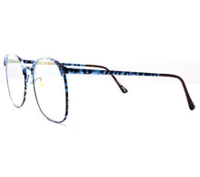VF by Vintage Frames 90210 Blue Marble Side, VF by Vintage Frames, glasses frames, eyeglasses online, eyeglass frames, mens glasses, womens glasses, buy glasses online, designer eyeglasses, vintage sunglasses, retro sunglasses, vintage glasses, sunglass, eyeglass, glasses, lens, vintage frames company, vf