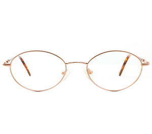 Finesse (Clear Flash Gold) Front, VF by Vintage Frames, glasses frames, eyeglasses online, eyeglass frames, mens glasses, womens glasses, buy glasses online, designer eyeglasses, vintage sunglasses, retro sunglasses, vintage glasses, sunglass, eyeglass, glasses, lens, vintage frames company, vf