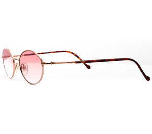 Finesse (Maroon Gradient Flat Lens) Side, VF by Vintage Frames, glasses frames, eyeglasses online, eyeglass frames, mens glasses, womens glasses, buy glasses online, designer eyeglasses, vintage sunglasses, retro sunglasses, vintage glasses, sunglass, eyeglass, glasses, lens, vintage frames company, vf