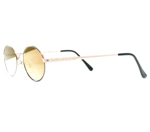 VF by Vintage Frames The Firm Grail (Moss Green Flash Gold Flat Lens) Side