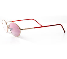 VF by Vintage Frames Pac Resurrection (Plum Gradient Flash Silver Lens) Side, VF by Vintage Frames, glasses frames, eyeglasses online, eyeglass frames, mens glasses, womens glasses, buy glasses online, designer eyeglasses, vintage sunglasses, retro sunglasses, vintage glasses, sunglass, eyeglass, glasses, lens, vintage frames company, vf