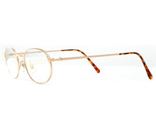 VF by Vintage Frames Genius (Clear Flash Gold) Side, VF by Vintage Frames, glasses frames, eyeglasses online, eyeglass frames, mens glasses, womens glasses, buy glasses online, designer eyeglasses, vintage sunglasses, retro sunglasses, vintage glasses, sunglass, eyeglass, glasses, lens, vintage frames company, vf