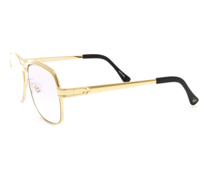 VF The Collector Masterpiece 24KT Gold Signature Edition (Lilac Gradient) Side, VF Masterpiece, glasses frames, eyeglasses online, eyeglass frames, mens glasses, womens glasses, buy glasses online, designer eyeglasses, vintage sunglasses, retro sunglasses, vintage glasses, sunglass, eyeglass, glasses, lens, vintage frames company, vf