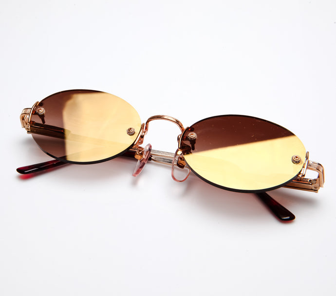 Bentley 21K Gold Plated Oval Thumbnail, Bentley, vintage frames, vintage frame, vintage sunglasses, vintage glasses, retro sunglasses, retro glasses, vintage glasses, vintage designer sunglasses, vintage design glasses, eyeglass frames, glasses frames, sunglass frames, sunglass, eyeglass, glasses, lens, jewelry, vintage frames company, vf