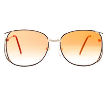 Bentley Shadows-7 (Mandarine Gradient Flash Gold Flat Lens) Front, Bentley, glasses frames, eyeglasses online, eyeglass frames, mens glasses, womens glasses, buy glasses online, designer eyeglasses, vintage sunglasses, retro sunglasses, vintage glasses, sunglass, eyeglass, glasses, lens, vintage frames company, vf