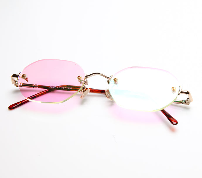 Bentley R58 01 Multi Flash Pink Flat Lens Thumbnail, Bentley, vintage frames, vintage frame, vintage sunglasses, vintage glasses, retro sunglasses, retro glasses, vintage glasses, vintage designer sunglasses, vintage design glasses, eyeglass frames, glasses frames, sunglass frames, sunglass, eyeglass, glasses, lens, jewelry, vintage frames company, vf