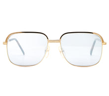 Bentley Set 28 GOLD (Dark Smoke Mirror Flat Lens) Front, Bentley, glasses frames, eyeglasses online, eyeglass frames, mens glasses, womens glasses, buy glasses online, designer eyeglasses, vintage sunglasses, retro sunglasses, vintage glasses, sunglass, eyeglass, glasses, lens, vintage frames company, vf