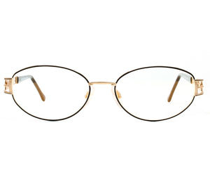 Carolina Herrera CH 720 ( Clear Flash Gold Curved Lens ) Front, Carolina Herrera, glasses frames, eyeglasses online, eyeglass frames, mens glasses, womens glasses, buy glasses online, designer eyeglasses, vintage sunglasses, retro sunglasses, vintage glasses, sunglass, eyeglass, glasses, lens, vintage frames company, vf