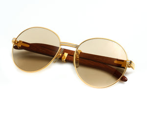 Cartier Bagatelle (Brown), Cartier, vintage frames, vintage frame, vintage sunglasses, vintage glasses, retro sunglasses, retro glasses, vintage glasses, vintage designer sunglasses, vintage design glasses, eyeglass frames, glasses frames, sunglass frames, sunglass, eyeglass, glasses, lens, jewelry, vintage frames company, vf