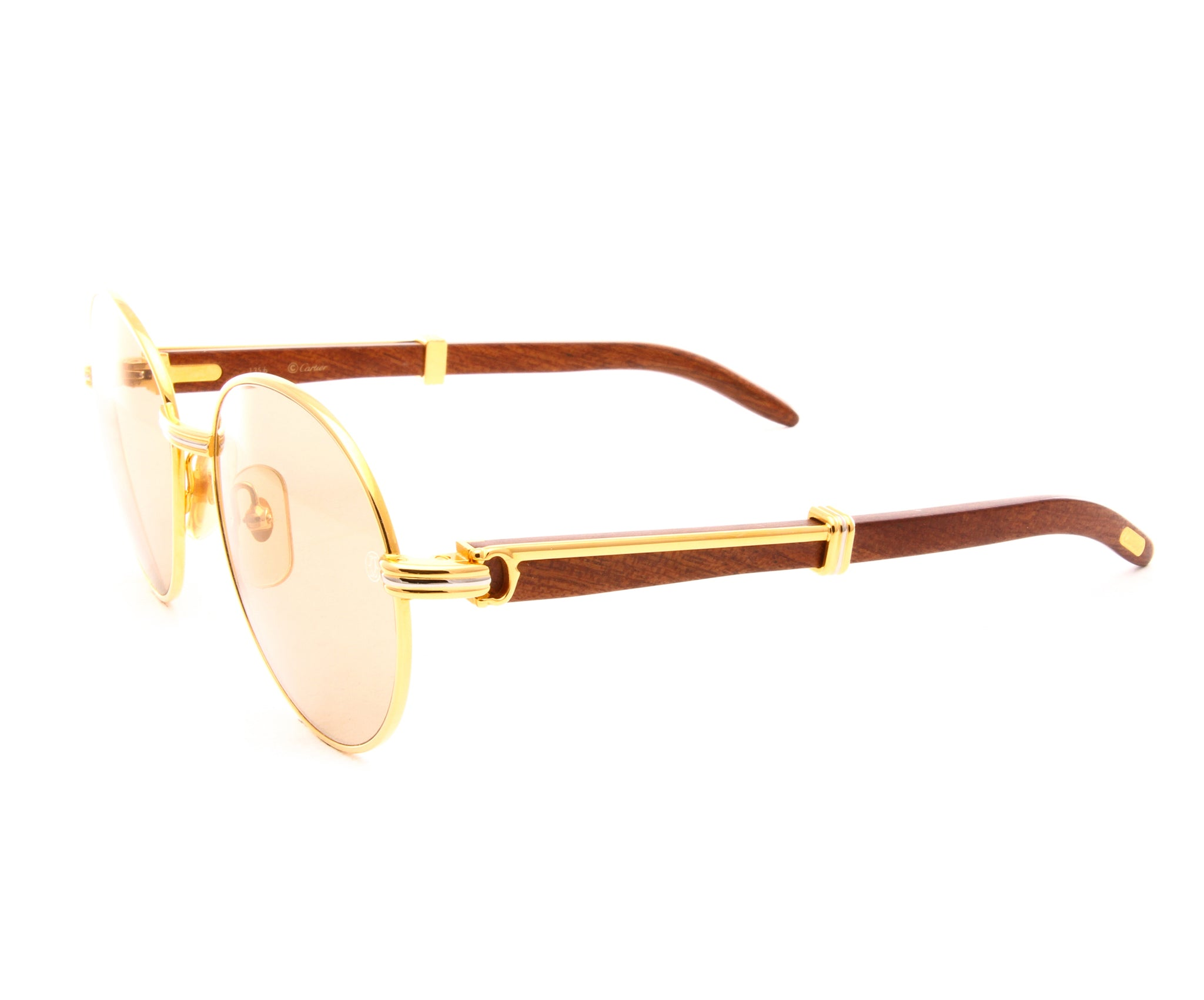 750cf5c9b5f8 Cartier Bagatelle (Light Brown) – Vintage Frames Company
