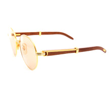Cartier Bagatelle 200 (Light Brown) Side